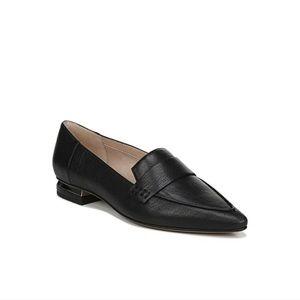 FRANCO SARTO Sansa Black Leather Loafers